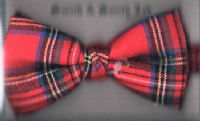 Ready Tied Tartan Bow - SP.0659